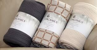 organic throw blanket. Wonderful Blanket Amazoncom Whisper Organics 100 Organic Cotton Throw Blanket  GOTS  Certified 60x80 Natural Home U0026 Kitchen In A