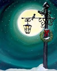 Paint Nite Northeastnj Garden State Ale House Formerly George Christmas  Painting Ideas