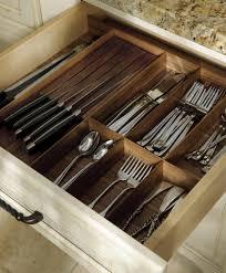 walnut drawer inserts spoon and knife storage ideas