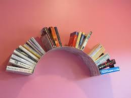 half circular wall shelf for books interesting ideas of wall shelves for books furniture
