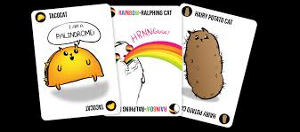 exploding cats. Wonderful Exploding Cat Cards Activate Special Powers When Played As Multiples Inside Exploding Cats T