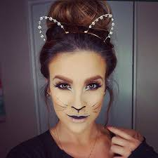 simple and easy cat makeup