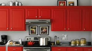 Red Kitchen Paint Remodelaholic Home Sweet Home On A Budget Kitchen Cabinet