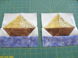 How To Quilt - Quilt Blocks - Simple Quilt Patterns: SAILBOAT ... & The sailboat quilt block is bright and cheerful and seemed appropriate on  this our third consecutive day of sunshine. If only the sunshine would last! Adamdwight.com