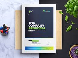 It Project Proposal Template Free Download Corporate Project Proposal Template By Contestdesign On Dribbble