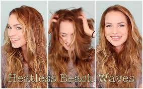 Beach Wave Hair Style easy heatless beachy waves favorite hairstyle of the month 1736 by wearticles.com