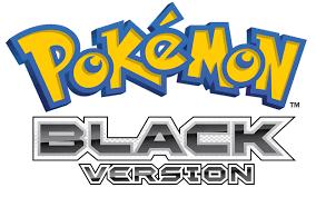 Image - Pokemon Black Logo.png | Pokémon Wiki | FANDOM powered by Wikia