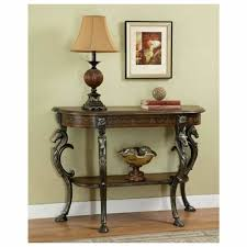 antique foyer furniture. Furniture. Antique Small Oval Foyer Table With Shelf Unusual Hoofed Legs And Horse Head. Furniture R