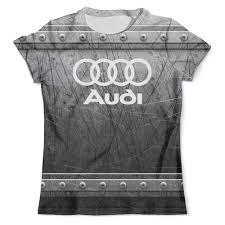 """Футболка с полной запечаткой (мужская) """"Авто <b>Audi</b>"""" #2517174 ..."""
