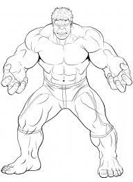 Incredible hulk strike hulk coloring pages sailany coloring kids. Hulk Drawing Outline
