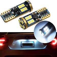 Euro Lights For Cars Details About High Power 6000k T10 Hid Xenon White Led License Plate Lights Kit For Euro Cars