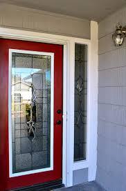 front door glass insert with zabitat