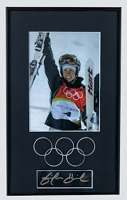 Custom framing ideas Unique Framed And Matted Photograph Of Gold Medal Skier At Vancouver Olymipics Carlfreerlife Ideas And Inspirationexpressions Images Custom Framing Inc
