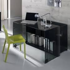 nervi glass office desk. server glass home office desk23501 nervi desk