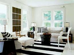 Zebra Living Room Sweet Black And White Living Room With Modern Sectional Couches
