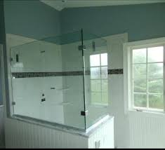 if your situation doesn t warrant a shower door glass splash panels splash guards or glass shower screens may be what you are looking for