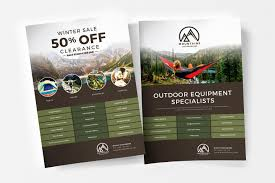 Flyer Poster Templates Free Camping Poster Template For Photoshop Illustrator