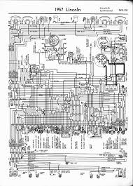lincoln wiring diagrams 1957 1965 1957 lincoln continental
