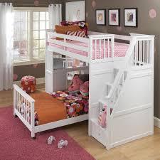 ne kids school house junior loft bed w ladder and slide wayside furniture loft beds