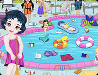 baby room cleaning games. Baby Rosy Room Cleaning · Princess Swimming Pool Games G