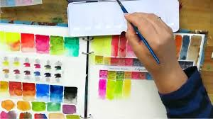 Review Sennelier Watercolour Paint Unpacking Colour Chart First Impression