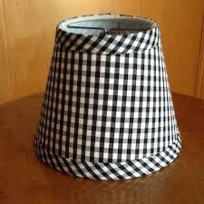 gingham lamp shades gingham lampshades gingham chandelier lamp shades