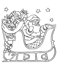 Small Picture Printable Santa Claus Christmas Coloring Pages gobel coloring page