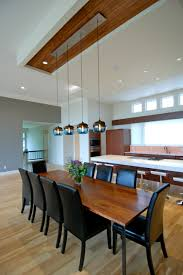 lighting dining room table. niche modern encalmo stamen pendants in a private residence at lake lighting dining room table g