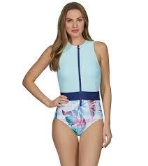 Malibu Dream Girl Swimwear Size Chart Next Hawaiian Dream Malibu Tank High Neck One Piece Swimsuit At Swimoutlet Com Free Shipping