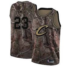 Nike Swingman Lebron James Youth Camo Nba Jersey 23