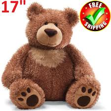 details about plush teddy bear 17 stuffed soft um toy valentines gift