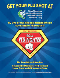 According to the centers for disease control and prevention, during 2018 and 2019, the flu vaccine. Flu Shots Sinks Pharmacy Medley Pharmacy Towne Pharmacy Steelville Drug