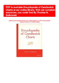 Pdf Ebook Encyclopedia Of Candlestick Charts Ebook