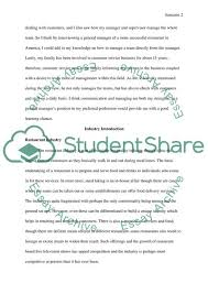 Informational Interview Report Research Paper Example