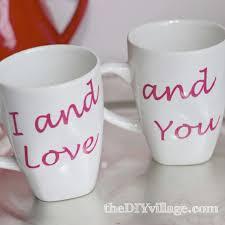 custom coffee mug valentine gift