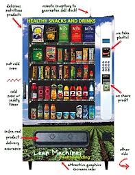 Vending Machine Business Profits Classy Amazon Healthy Vending Machine Service Start Up Sample Business