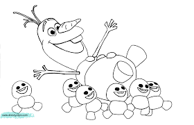 Small Picture Frozen olaf coloring pages 5 Nice Coloring Pages for Kids