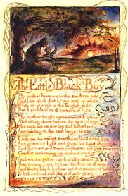 blakelittleblackboysts a jpg  the little black boy blake engraving for stanzas 1 4