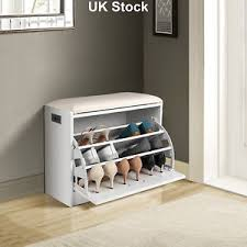 image is loading new ottoman shoe storage cabinet wooden closet rack