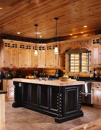 Cabin Kitchen Design Creative