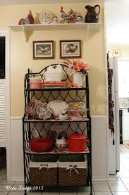 Decorating Kitchen Shelves 25 Best Ideas About Bakers Rack Decorating On Pinterest Bakers