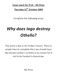 iago s jealousy in othello essay conclusion paraphrasing essay  iago in othello jealousy essay golfbg fr