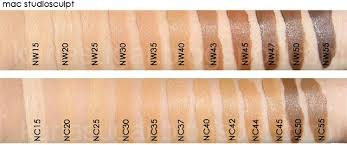 Mac Foundation Swatches In 2019 Makeup Swatches Mac