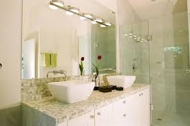 tile bathroom countertop ideas example of a trendy bathroom design in other with mosaic tile a vessel sink and tile ceramic tile bathroom countertop ideas