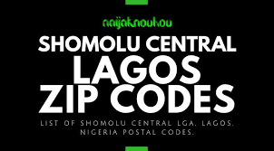 But in nigeria, it is officially referred to as postal code while in the usa it is called zip code. Shomolu Central L G A Zip Codes Postal Code Naijaknowhow