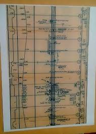 Prr Track Charts 1955 Prr Pennsylvania Railroad Track Chart Conway Pa Yard