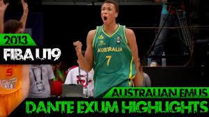 Dante Exum Highlights (Aus Emus ...