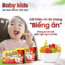 Babykids Ăn Ngủ Ngon Yến Sào Cho Trẻ Biếng Ăn - Home