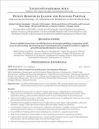 Hr Resume Sample From Generalist A Business Plan Template Nonprofit ...