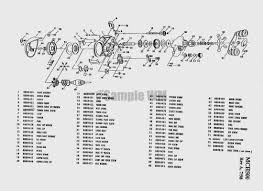 mitchell copperhead mch500 mikes reel repair okuma reel parts online at Okuma Reel Parts Diagram